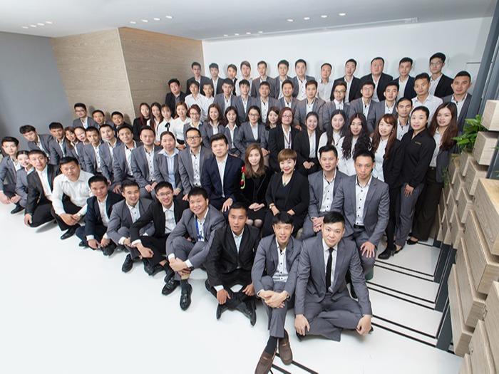 东港家具-集团营销团队合影