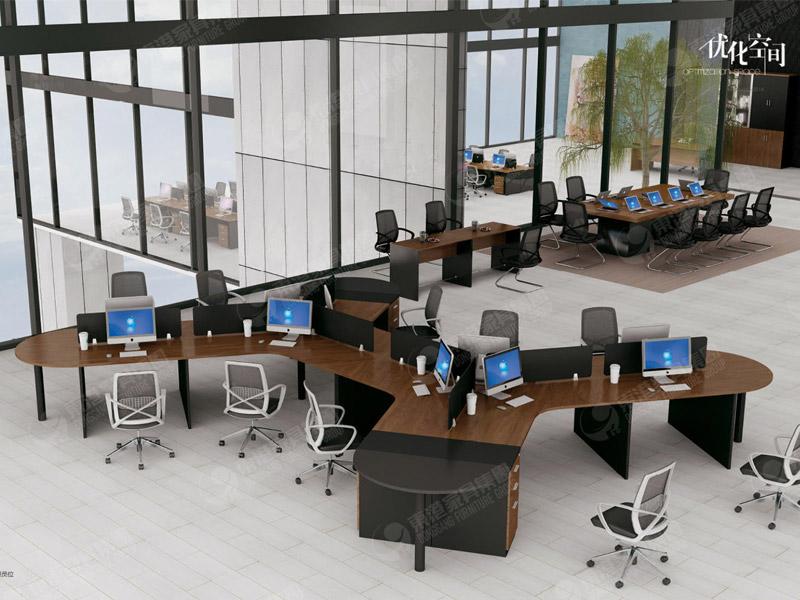 办公空间黑胡桃