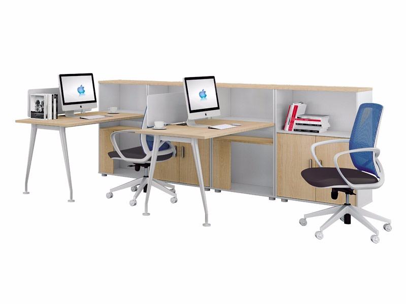 π系列职员位办公桌-W0402B