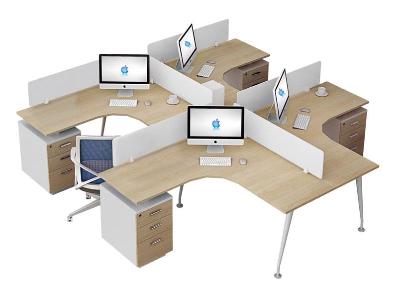 π系列职员位办公桌-W0404A2-2