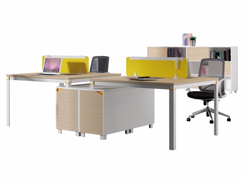 格色系列办公桌-W0104A
