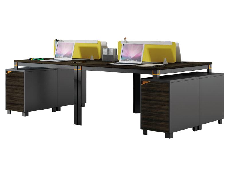 格色系列办公桌-W0104A-2
