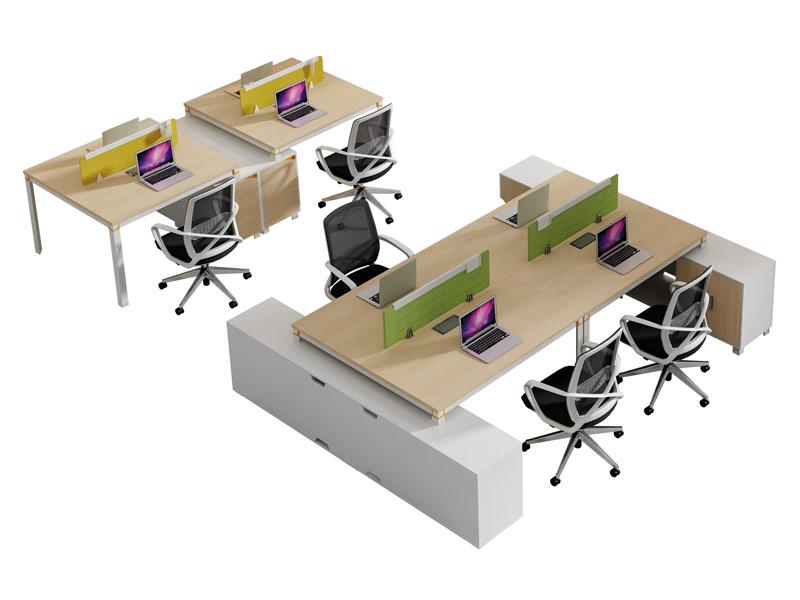 格色系列办公桌-W0104AL-2