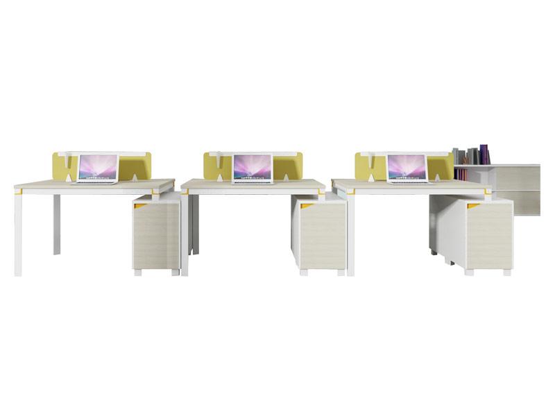 格色系列办公桌-W0106A