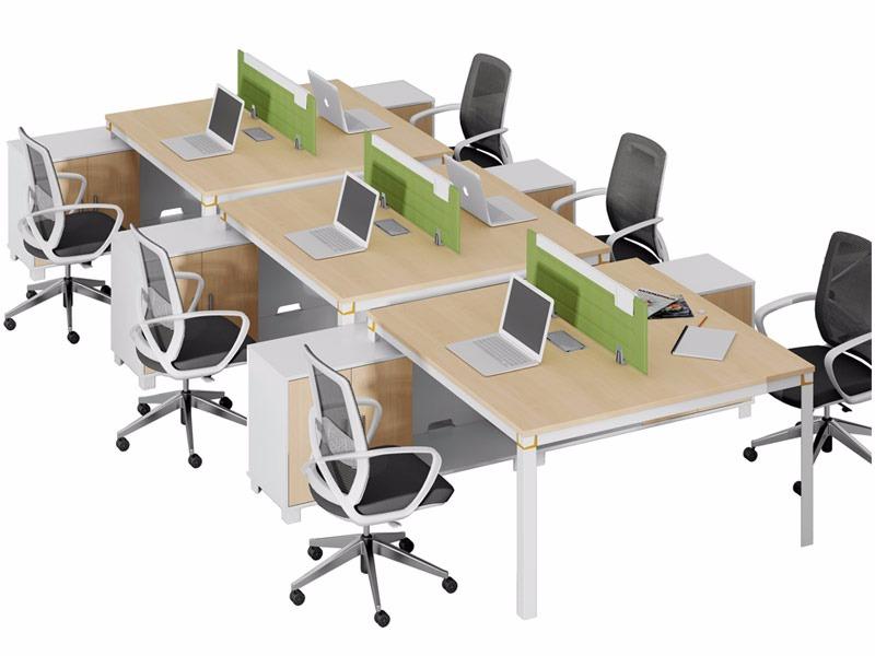 格色系列办公桌-W0106AL