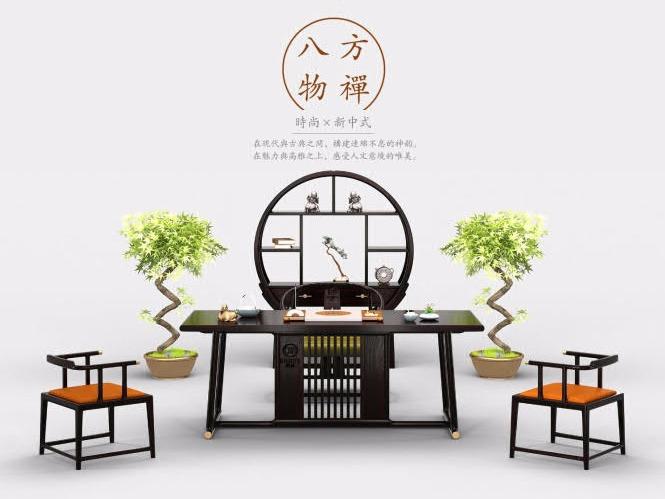 八方物禅-新中式系列