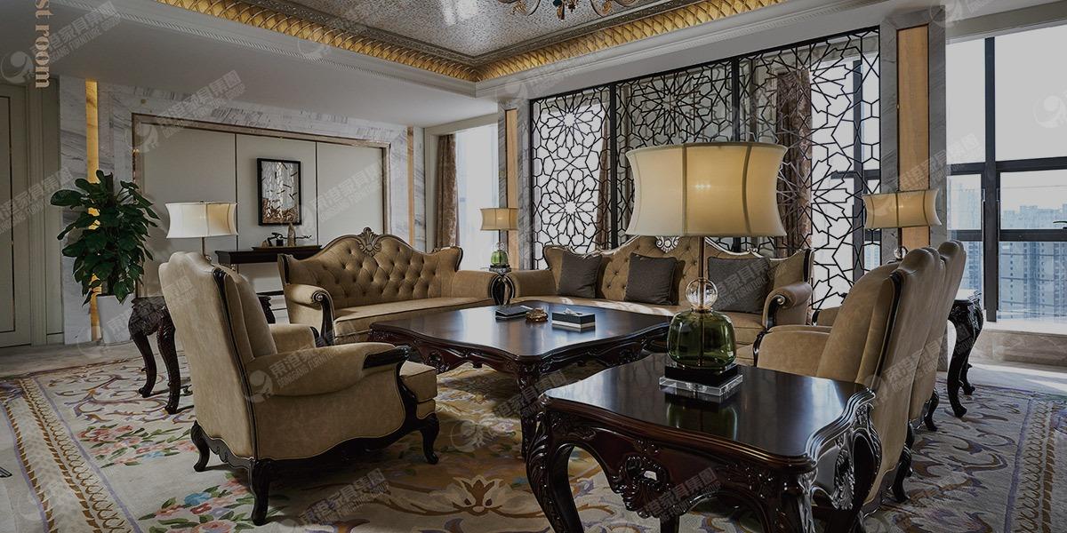 独山温德姆豪庭大酒店家具工程案例
