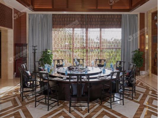 酒店餐厅家具-三亚迎宾馆