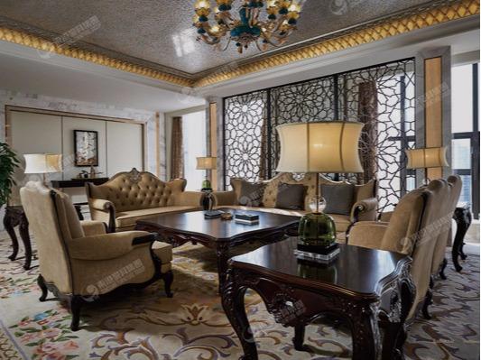 酒店公区家具-独山温德姆豪庭大酒店