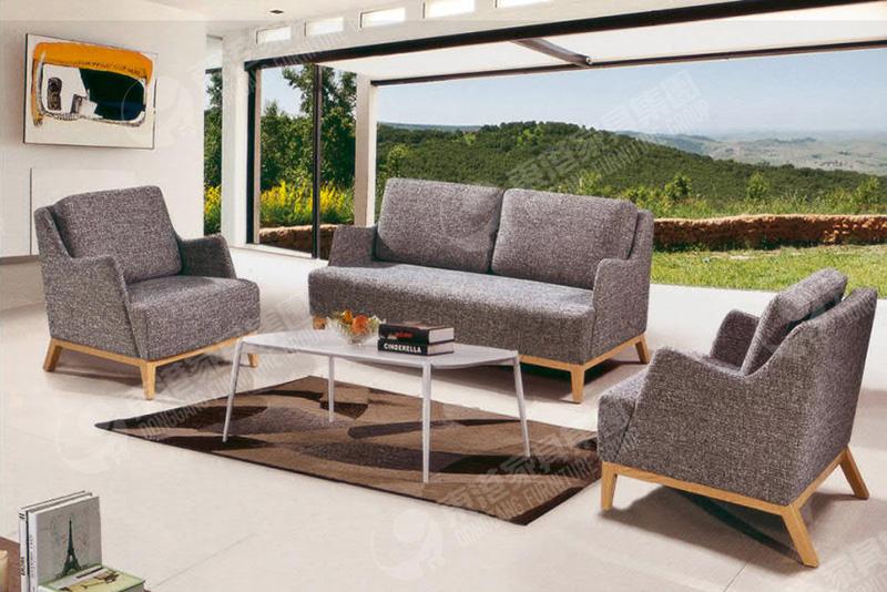东港家具实木软体沙发