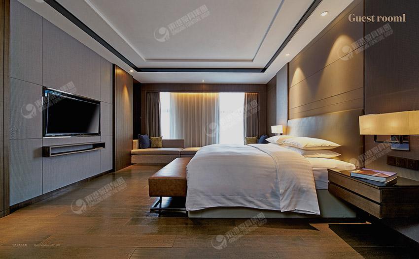 浙江新昌万怡酒店-客房-1