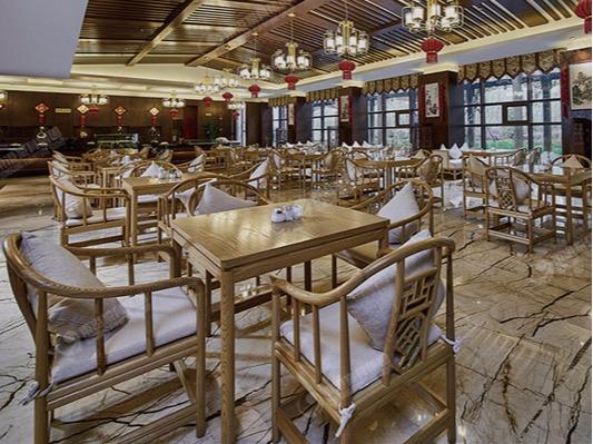 酒店餐厅家具-翰林山居酒店